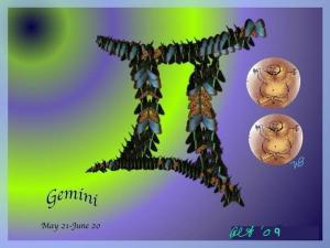 Digital Artist Alice Terrill Painting Gemini Featured In Astrology Art